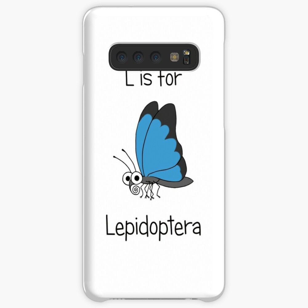 L is for Lepidoptera Case & Skin for Samsung Galaxy