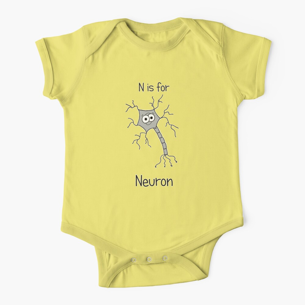 N is for Neuron Baby One-Piece