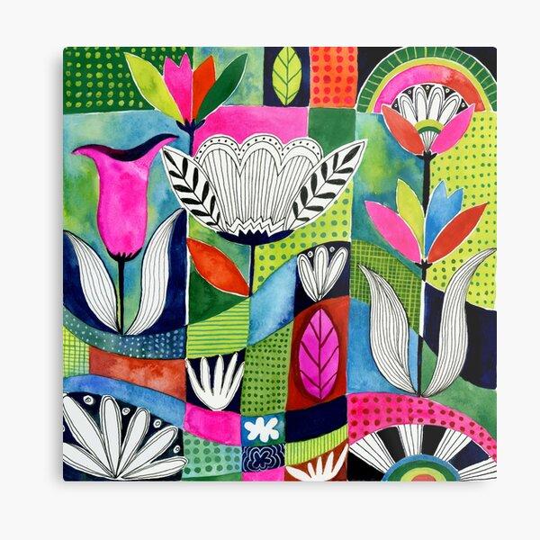 Tulip Jungle Metal Print