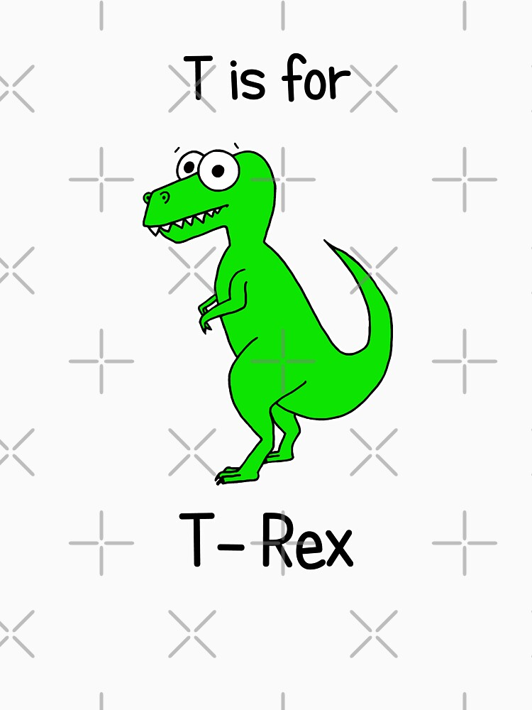 T is for T-Rex by AdrienneBody