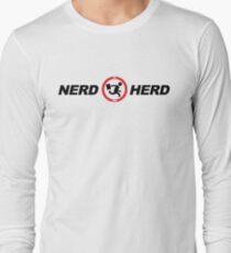 Nerd Herd Logo Chuck Buy More Long Sleeve T-Shirt