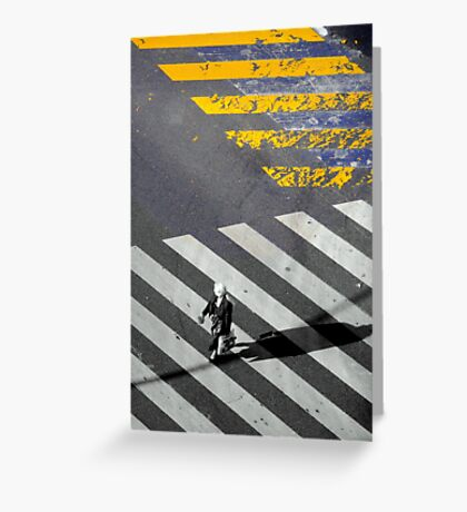 Paris - Crossing Greeting Card