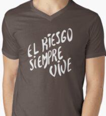 Vasquez's Chest plate motif Men's V-Neck T-Shirt
