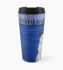 Australian Cattle Dog, Blue Heeler (Blue Forest, Starry Sky), by Artwork by AK Travel Mug