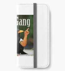 Wild Green Memes Bird Birb Gang iPhone Wallet/Case/Skin