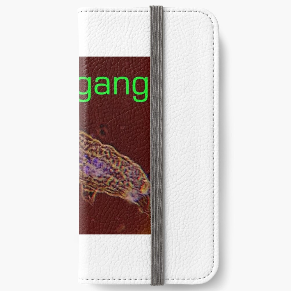 Wild Green Memes Tardigrade Tardigang iPhone Wallet