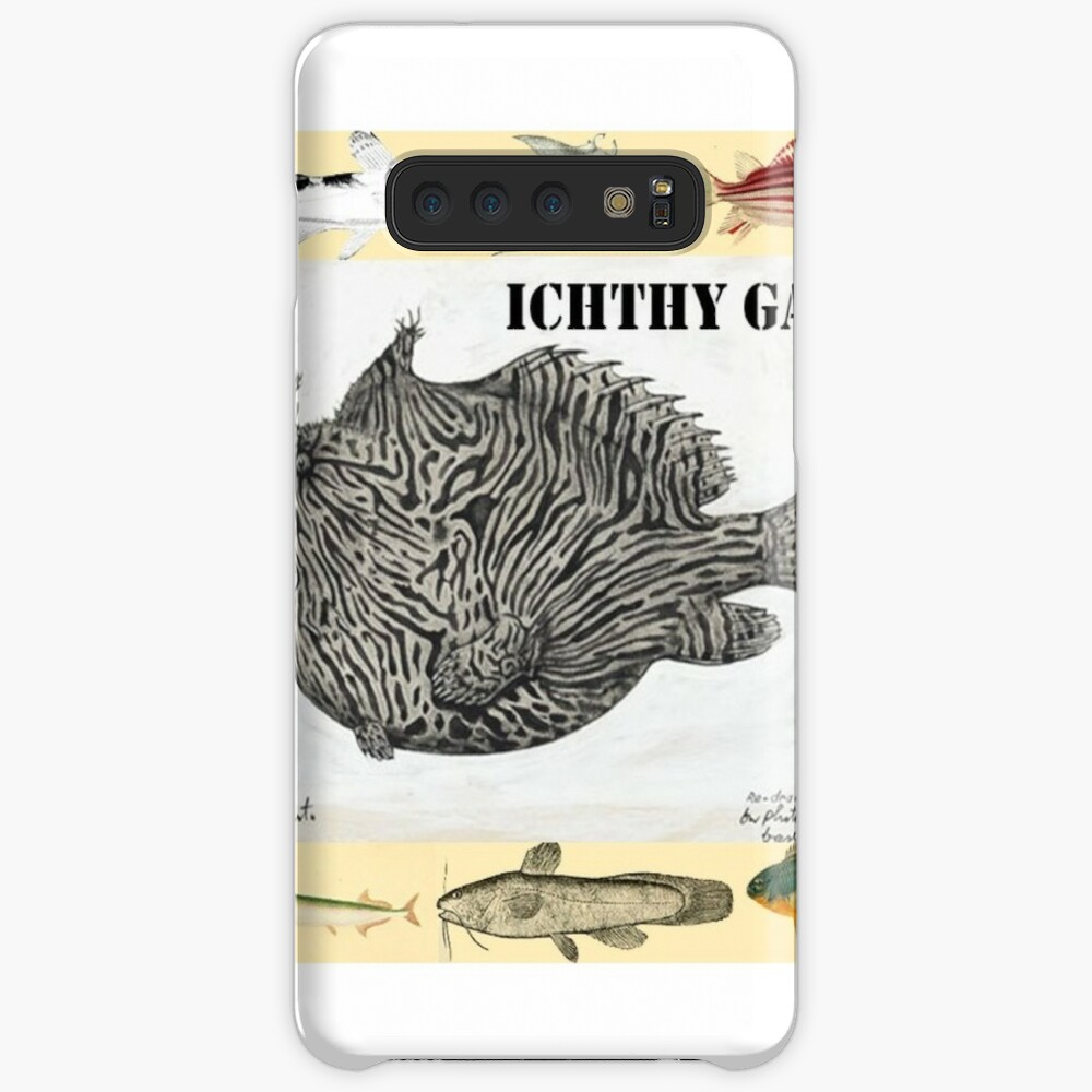 Wild Green Memes Fish Ichthyology Gang Samsung Galaxy Snap Case