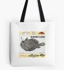 Wild Green Memes Fish Ichthyology Gang Tote Bag