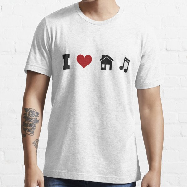 I Heart House Music  Essential T-Shirt