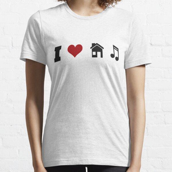 I Heart House Music  Essential T-Shirt