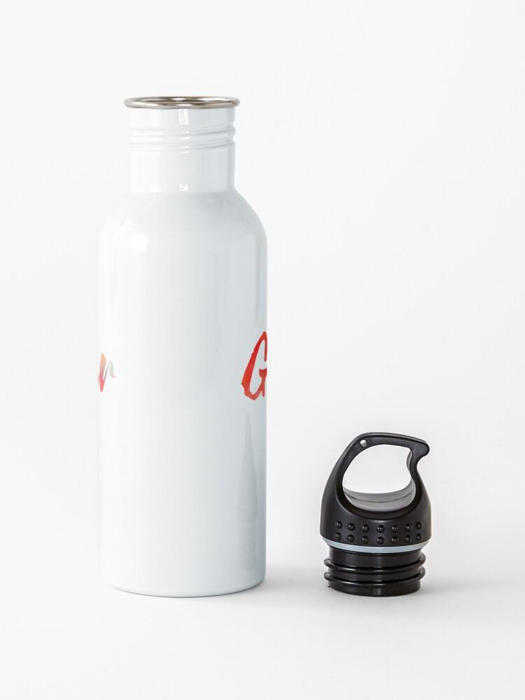Alternate view of Globetrotter in Rainbow Water Bottle