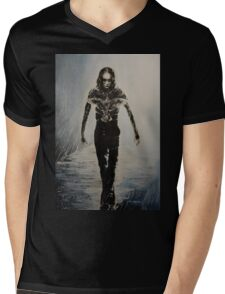 Eric Draven - The Crow Mens V-Neck T-Shirt