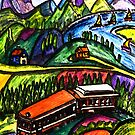 Railway Express by Monica Engeler