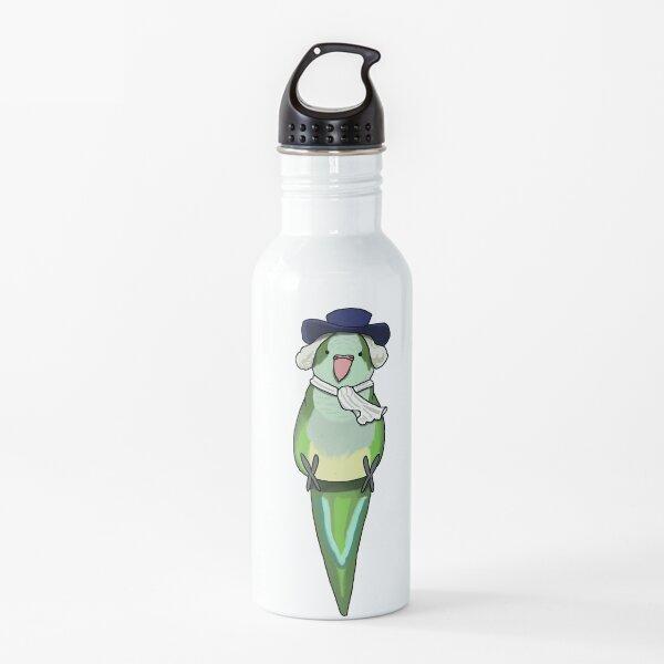 Quaker Parrot sitting Water Bottle