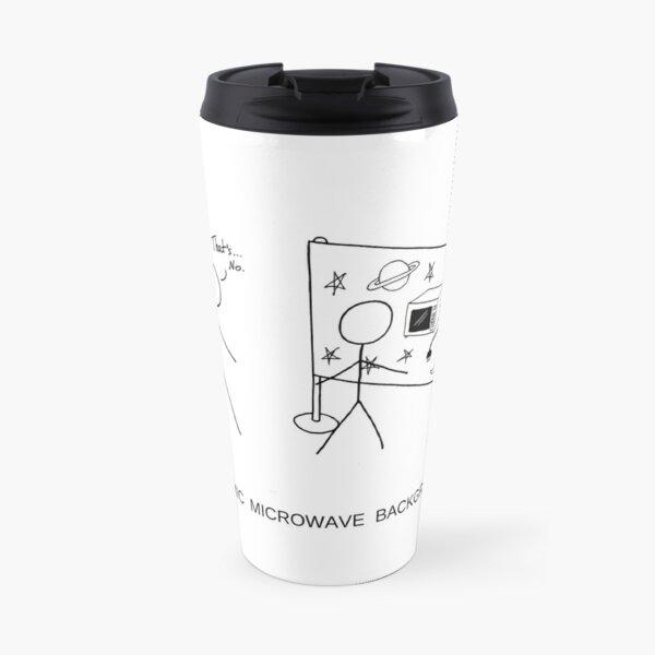 Cosmic Microwave Background Travel Mug