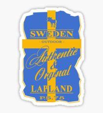 Sweden Flag - Vintage Look Sticker
