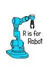 R is for Robot by Adrienne Body