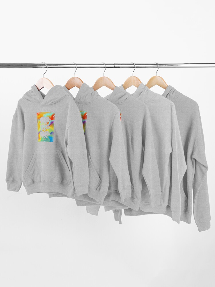 Alternate view of Bear Stack | We Bare Bears Kids Pullover Hoodie