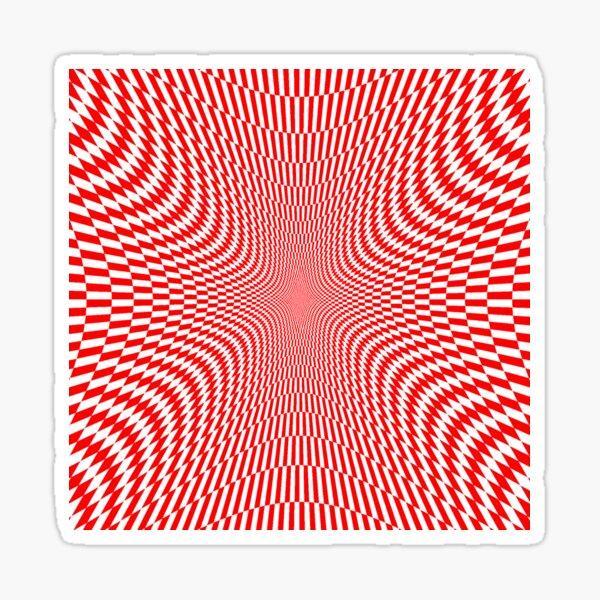 #Abstract, #Pattern, #Texture, #Design, Wallpaper, Art, OpArt, Optical Art Sticker