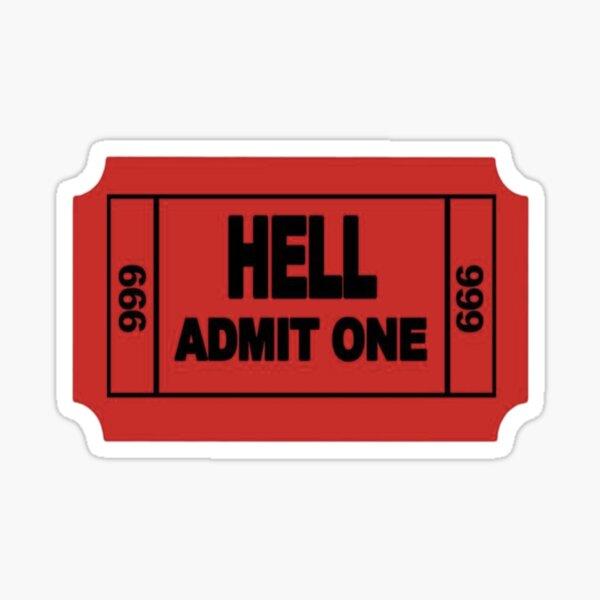 Hell Sticker