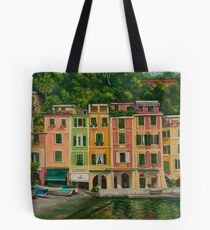 Colorful Portofino Tote Bag
