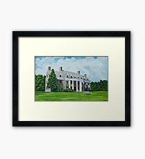 Delta Upsilon Framed Print
