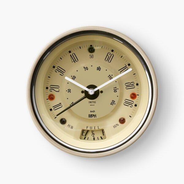 Smiths 90mph speedo - white face Clock