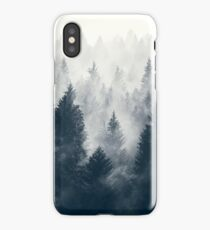 Nature trees iPhone Case/Skin