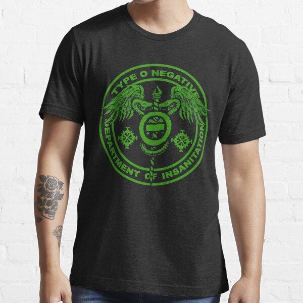 type o dept insanitation negative 2019 2020 cariuang Essential T-Shirt
