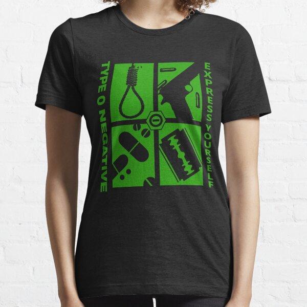 type o express 2019 negative 2020 cariuang Essential T-Shirt