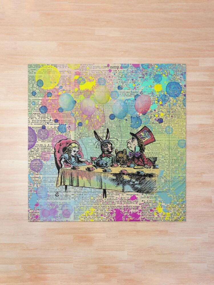 Alternate view of Tea Party Celebration - Alice In Wonderland Comforter