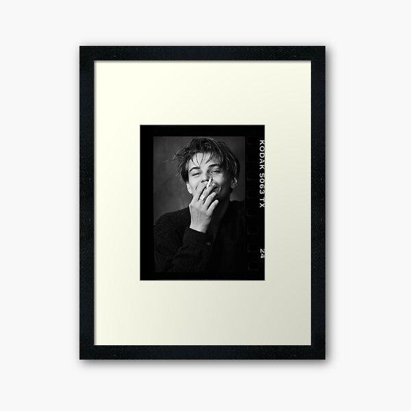 Leonardo DiCaprio- Smoking  Framed Art Print