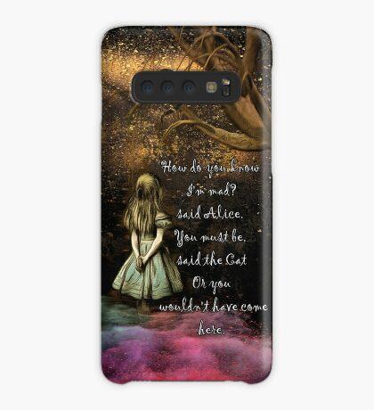 Magical Wonderland - ¿Cómo sabes que soy loco? Funda/vinilo para Samsung Galaxy