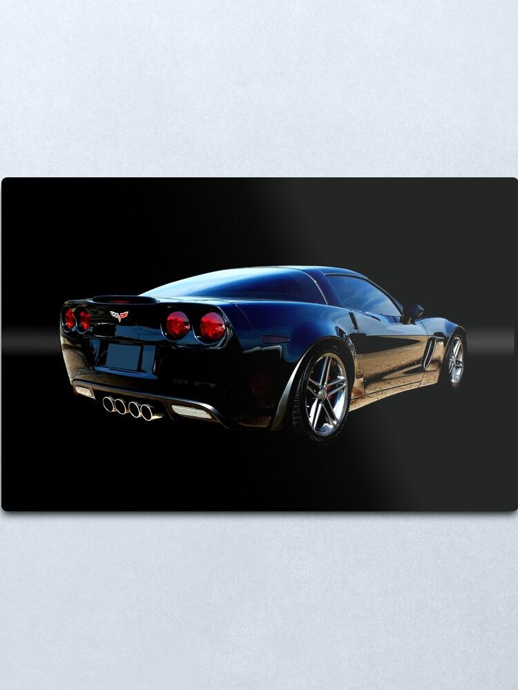 Alternate view of Chevrolet Corvette Z06 Metal Print