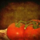 Red, Red Tomatoes by DottieDees