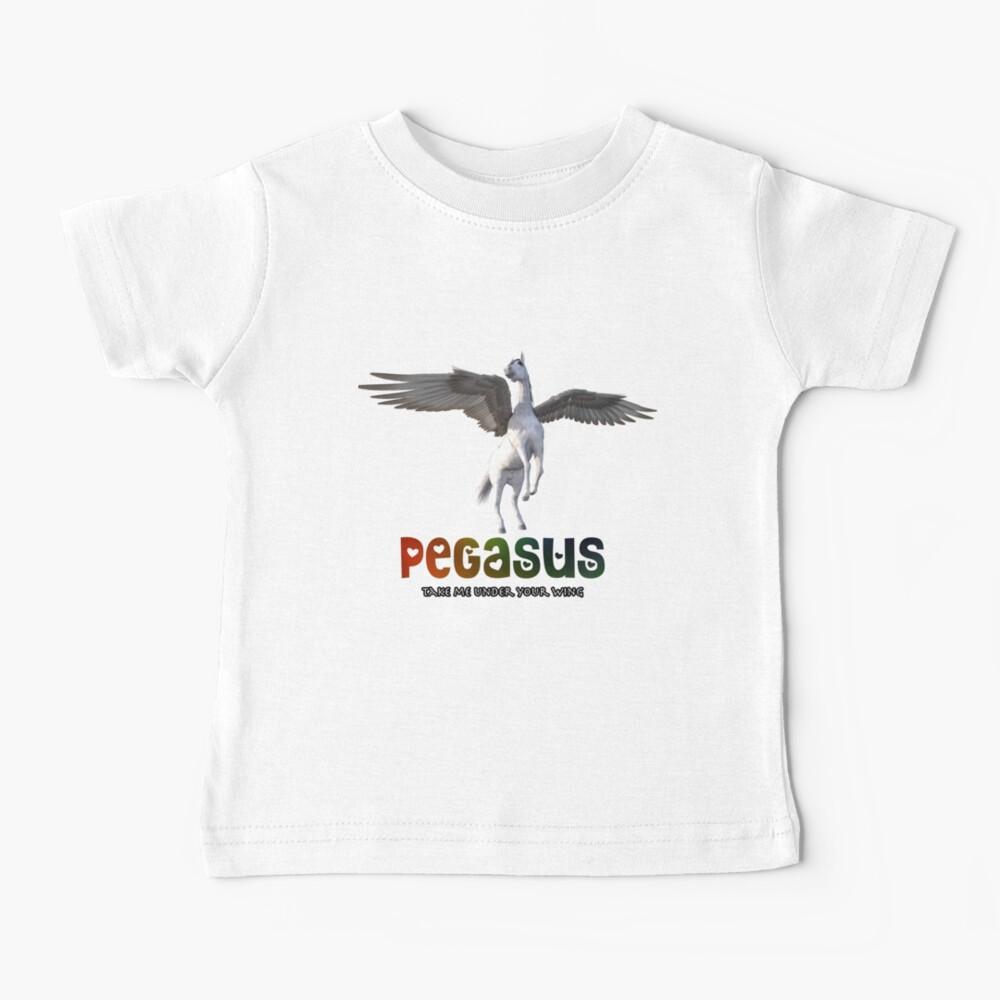 Pegasus - Take me under your wing Baby T-Shirt