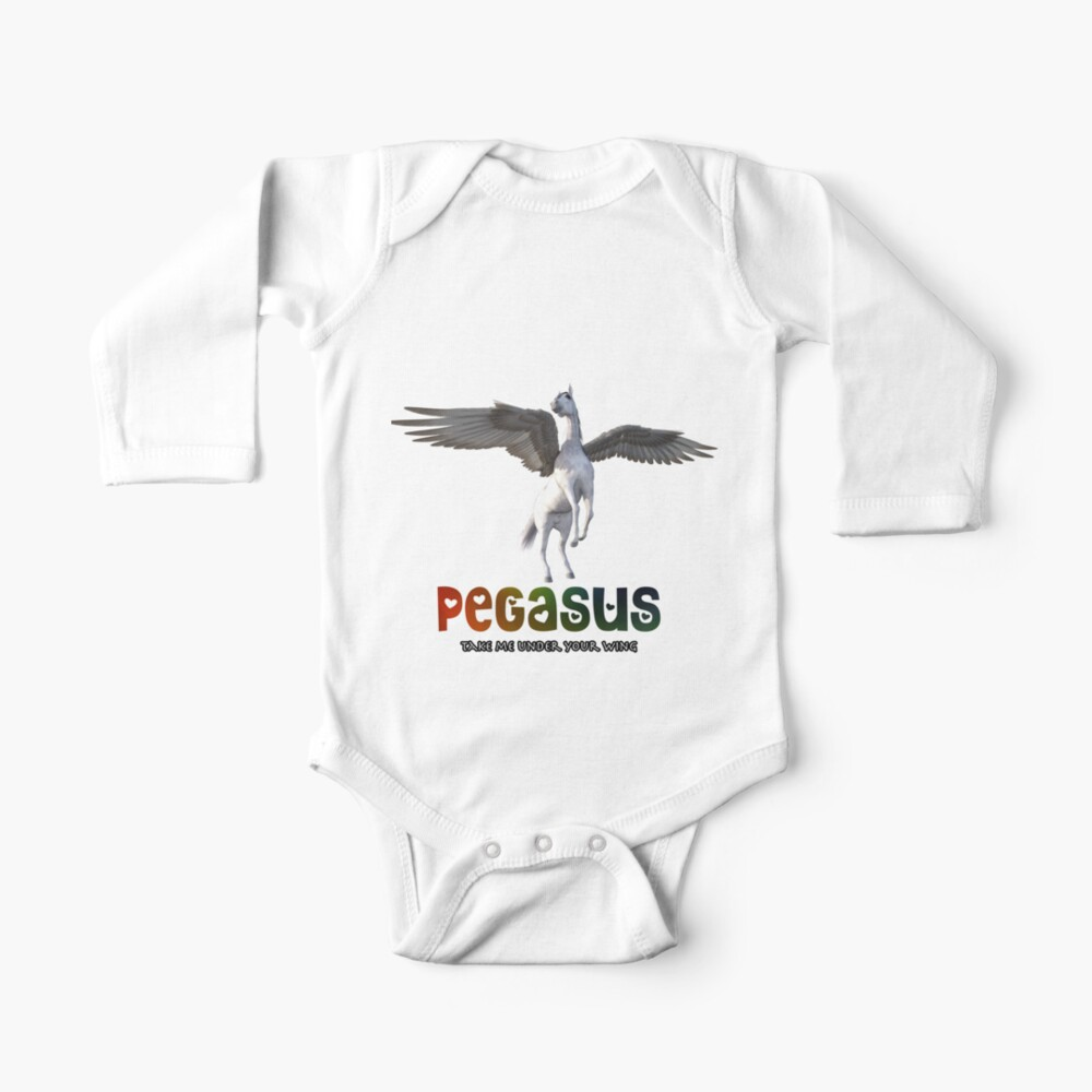 Pegasus - Take me under your wing Baby One-Piece
