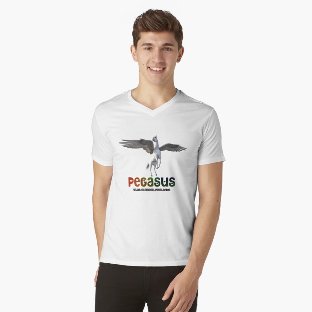 Pegasus - Take me under your wing V-Neck T-Shirt