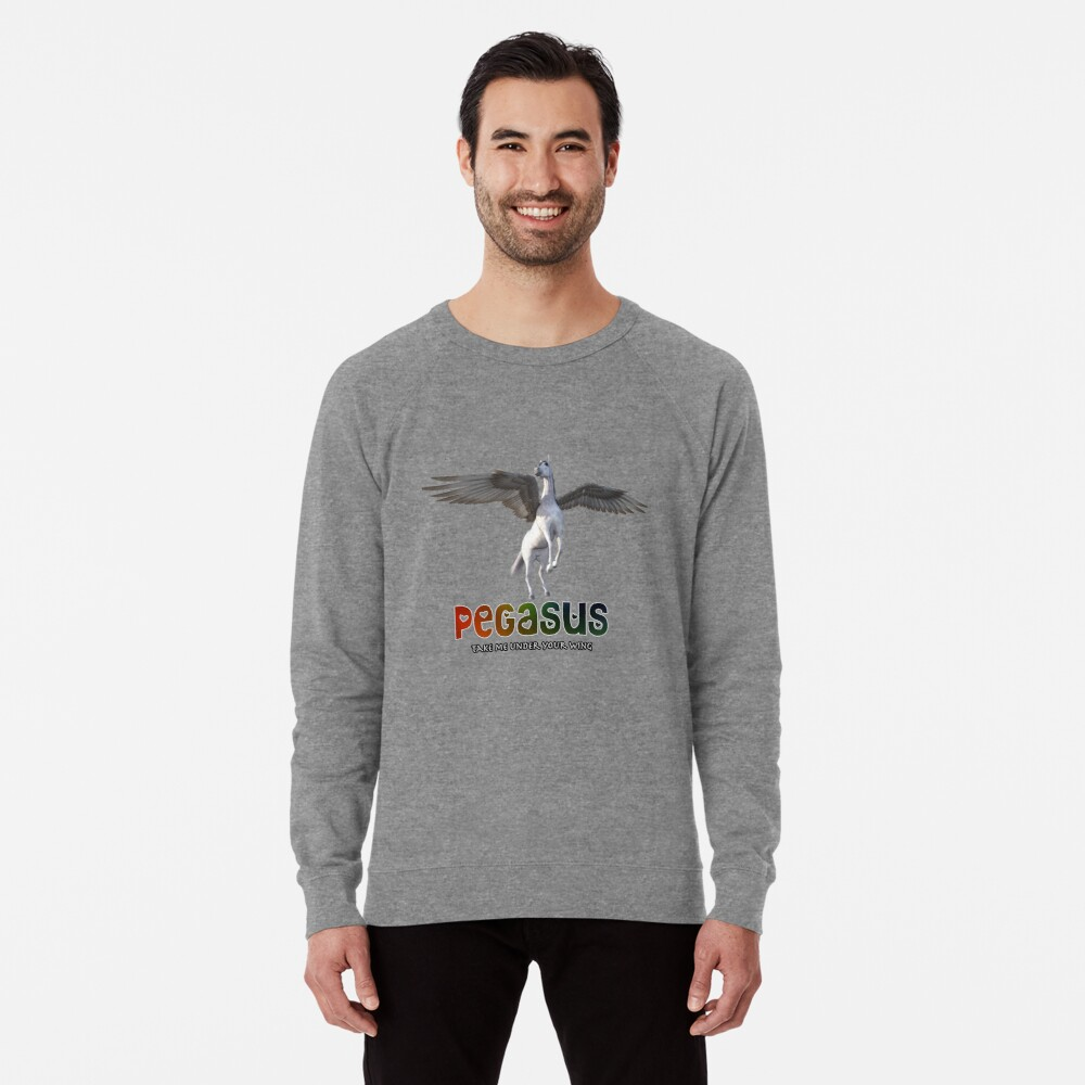 Pegasus - Take me under your wing Lightweight Sweatshirt