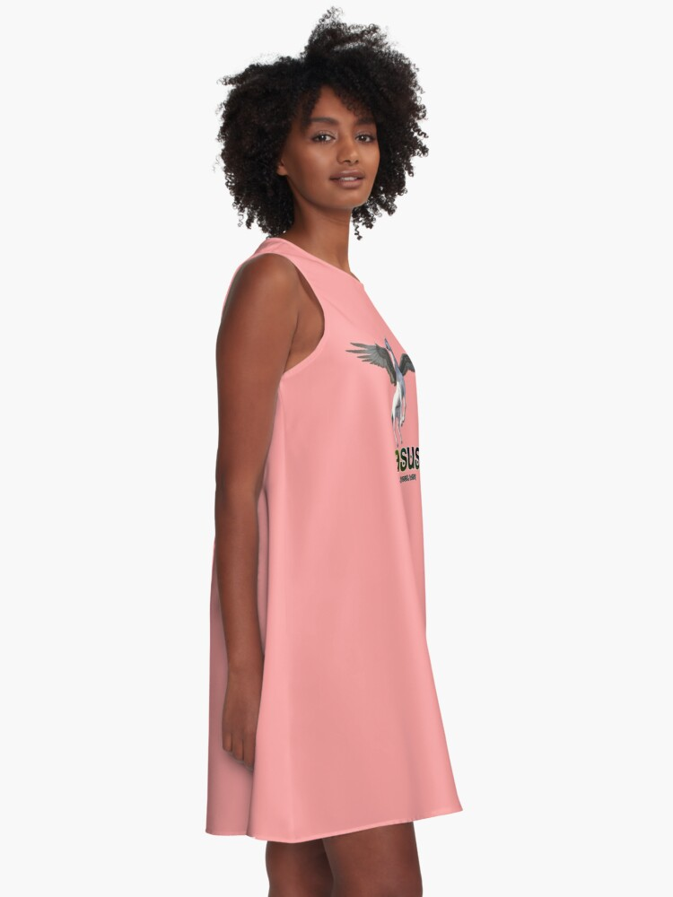 Alternate view of Pegasus - Take me under your wing A-Line Dress