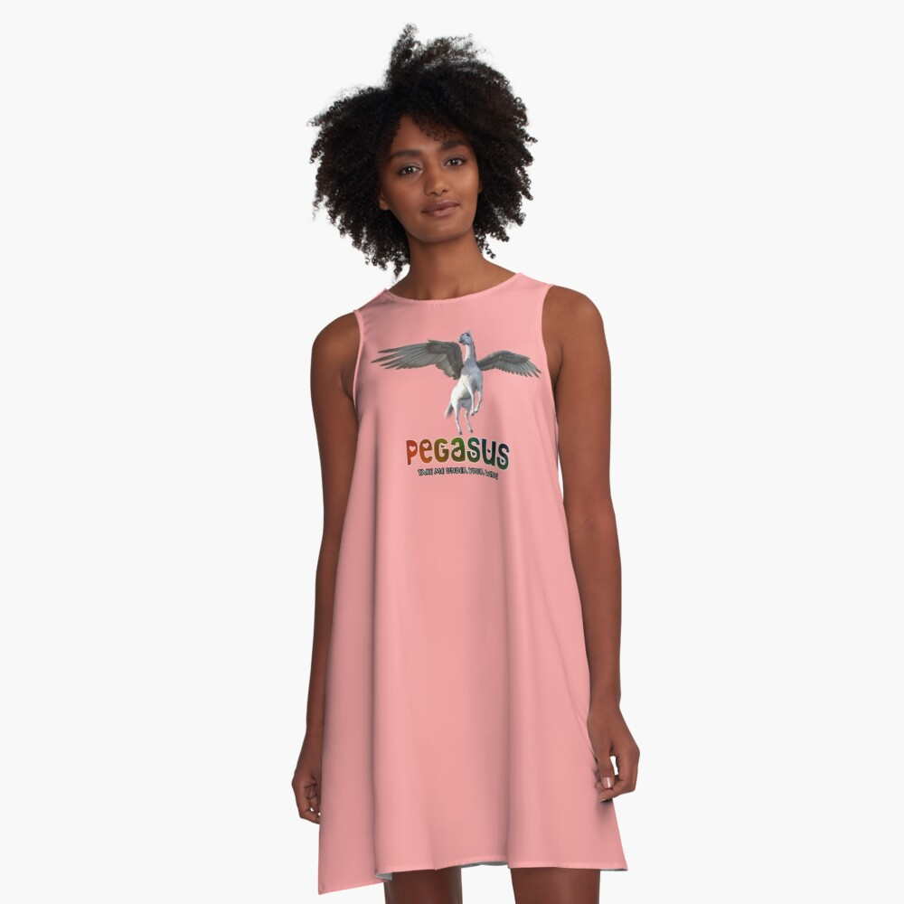 Pegasus - Take me under your wing A-Line Dress