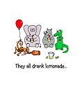 They All Drank Lemonade by Adrienne Body