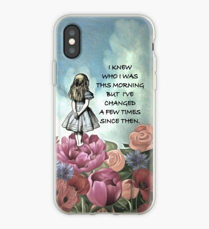 Wondering Alice - Cita de Alicia en el país de las maravillas Vinilo o funda para iPhone