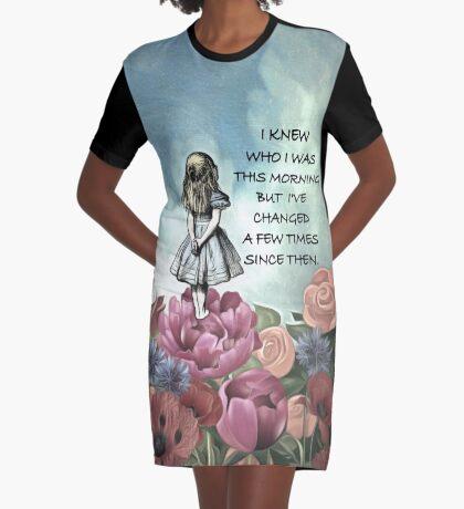 Wondering Alice - Cita de Alicia en el país de las maravillas Vestido camiseta
