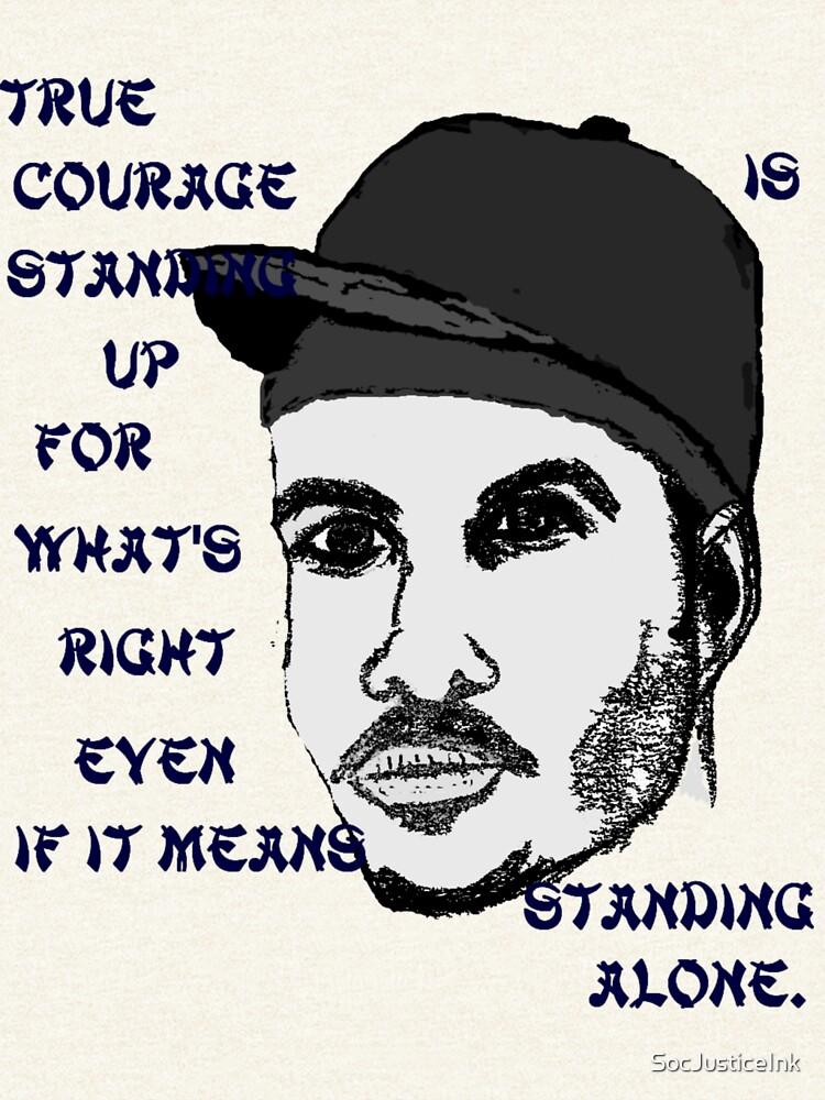 True Courage by SocJusticeInk