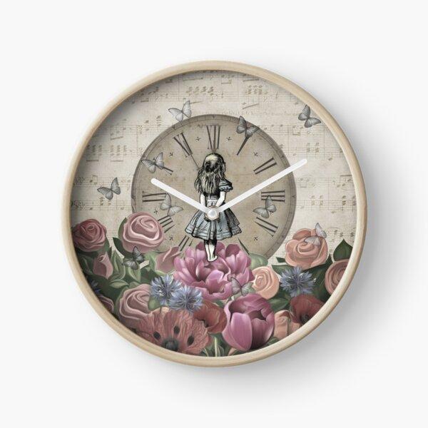 Alice In Wonderland - Wonderland Garden Clock