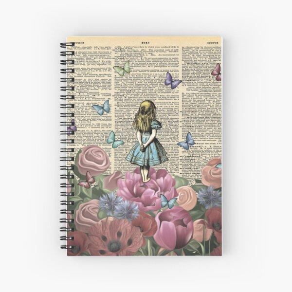 Alice In Wonderland - Wonderland Garden Spiral Notebook