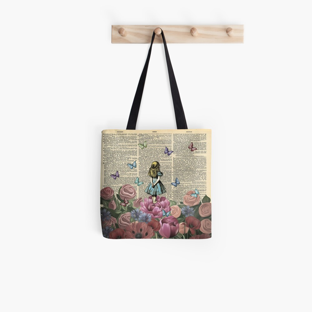 Alice In Wonderland - Wonderland Garden Tote Bag
