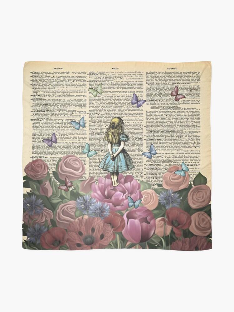 Alternate view of Alice In Wonderland - Wonderland Garden Scarf