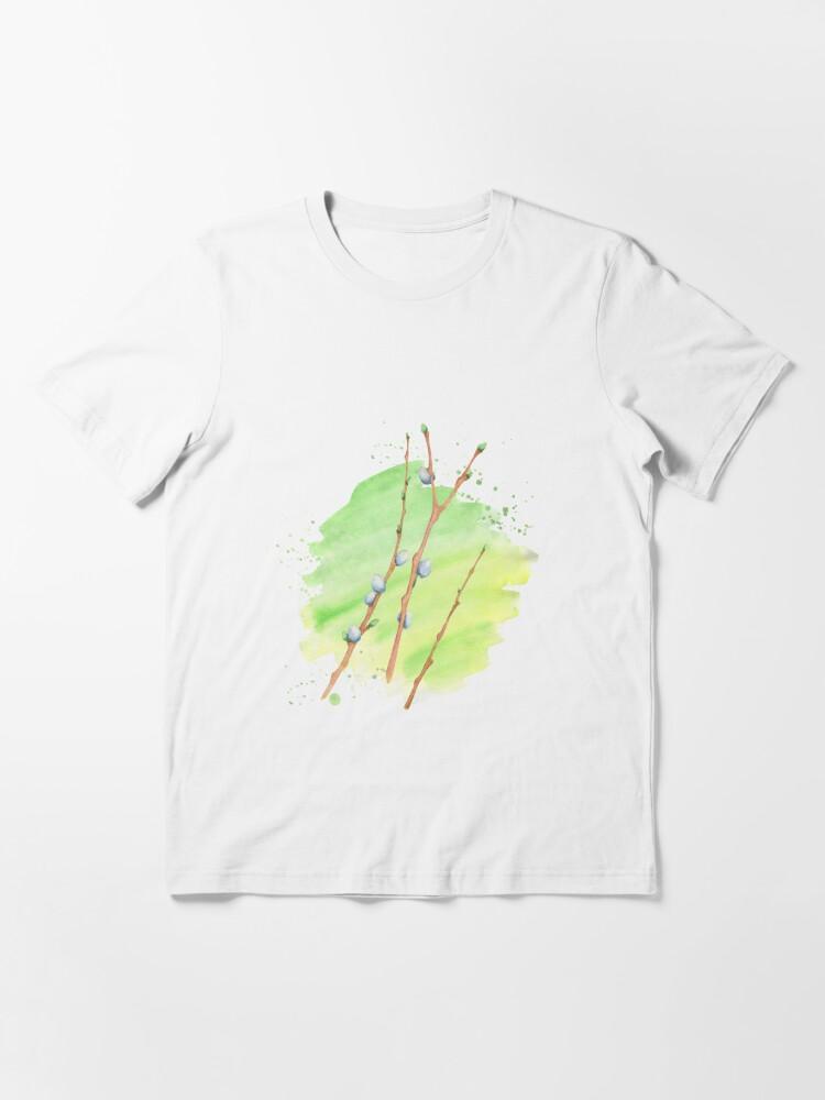 Alternative Ansicht von Weidenkätzchen Essential T-Shirt